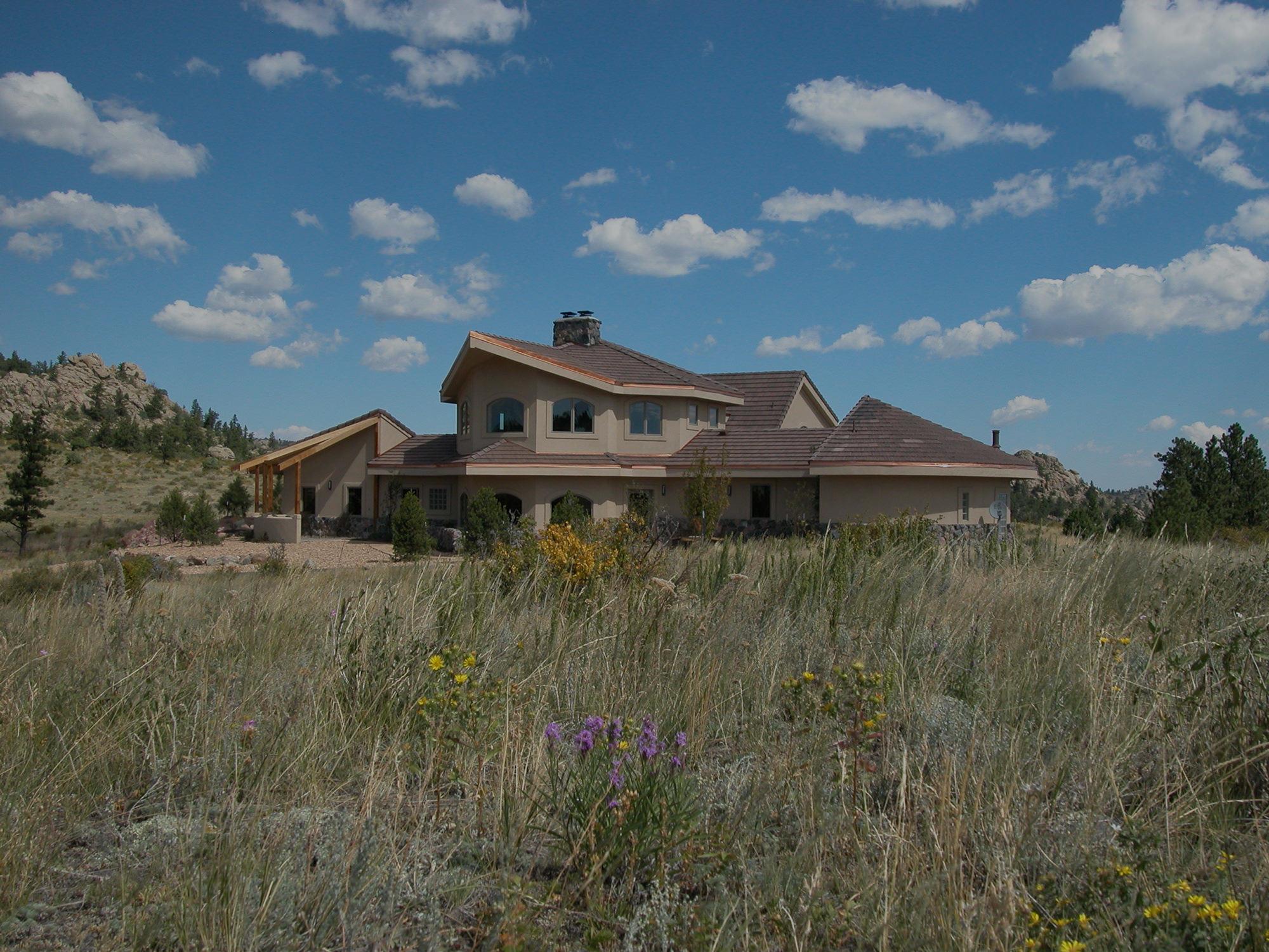 Custom Home in Colorado