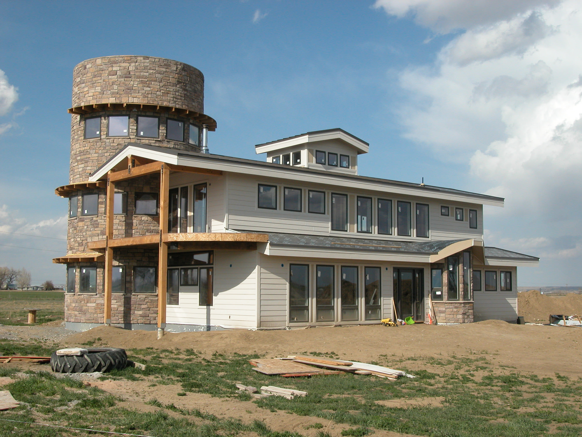 Custom Sustainable Home in Colorado